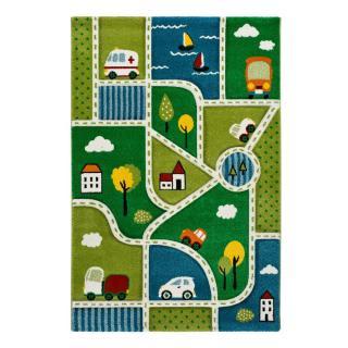Dětský koberec Universal Toys City, 120 x 170 cm