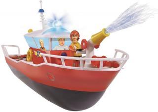 Dickie RC Požárník Sam člun Titan 1:16 - použité