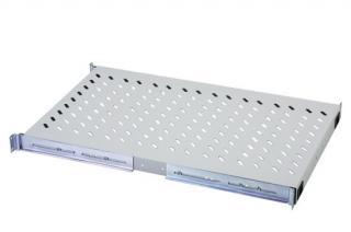 Digitus pevná police pro rack hl.1000mm šedá 483x720x50, 100 kg, DN-19 TRAY-1-1000