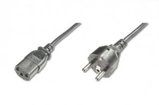 Digitus Power Cord, CEE 7/7  - C13 M/F, 1.8m, H05VV-F3G 0.75qmm, bl