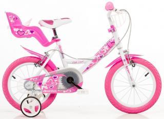 Dino bikes Dívčí kolo 14