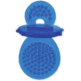 DOG FANTASY hračka dudlík guma modrá 8 cm