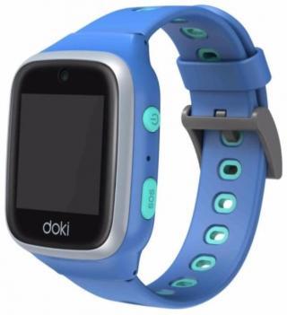 doki dokiwatch dokiPal dětské chytré hodinky 4G LTE s videotelefonem, modré - zánovní