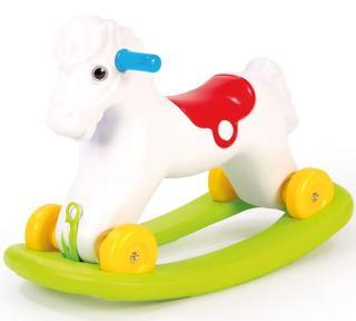DOLU Houpací kůň s kolečky - zánovní