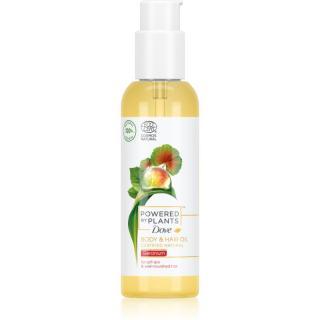 Dove Powered by Plants Geranium výživný olej na tělo a vlasy 100 ml