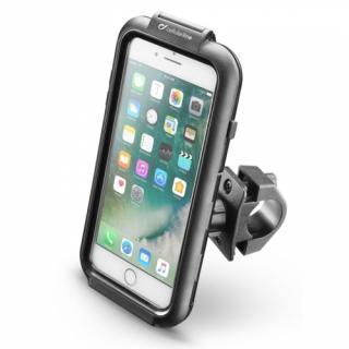 Držák na mobil Interphone pro Apple iPhone 8 Plus/7 Plus/6 Plus, úchyt na řídítka, voděodolné pouzdro