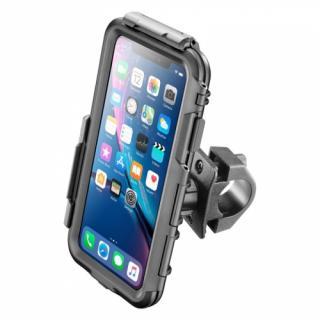 Držák na mobil Interphone pro Apple iPhone XR, úchyt na řídítka, voděodolné pouzdro