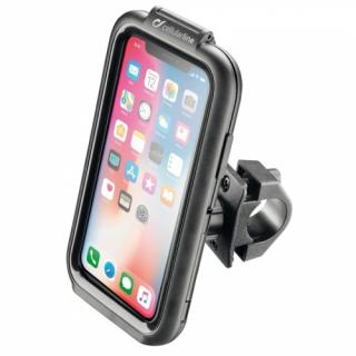 Držák na mobil Interphone pro Apple iPhone X/Xs, úchyt na řídítka, voděodolné pouzdro