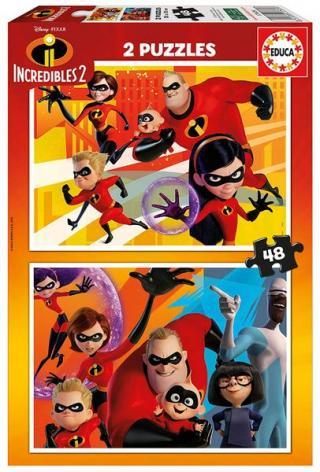 Educa 2 Puzzles - Incredibles 2