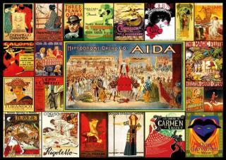 Educa Puzzle 3000 Dílků Opera Collage