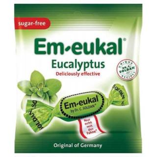 Em-Eukal Eukalyptovo-mentol dropsy bez cukru 50g