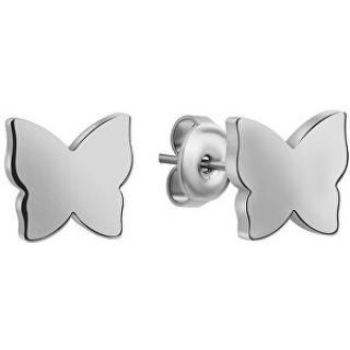Emily Westwood Ocelové náušnice Motýlci WE1036S