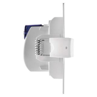 Emos LED bodové svítidlo stříbrné, kruh, neutrální bílá  - rozbaleno