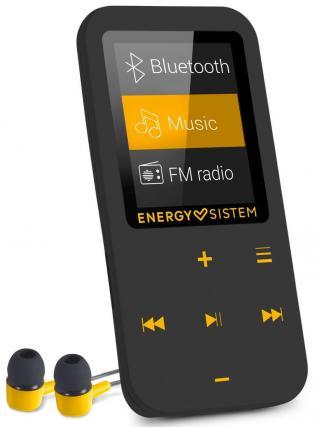 Energy Sistem MP4 Touch BT, 16384, jantarová/černá - zánovní