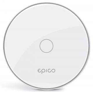 EPICO bezdrátová nabíječka 10W/ 7.5W/ 5W, bílo - stříbrná 9915152100001 - rozbaleno