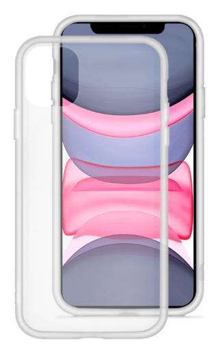 EPICO GLASS CASE 2019 iPhone 11 - transparentní/bílá