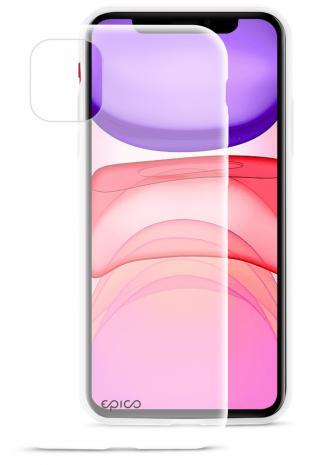 EPICO SILICONE CASE 2019 iPhone 11 - bílá transparentní