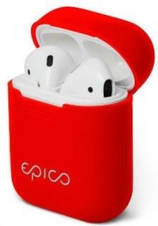 EPICO Silicone cover AirPods Pro - červená