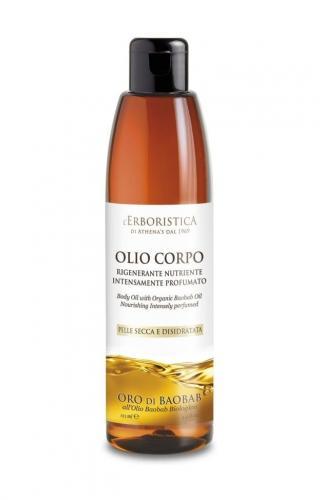 Erboristica Oro di Baobab Tělový olej s baobabovým olejem 125 ml