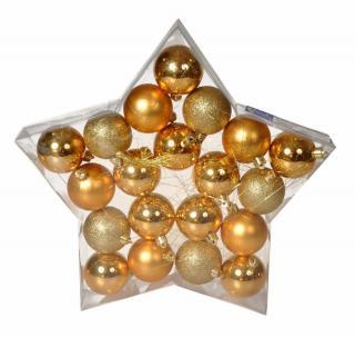 EverGreen Koule Star box 20 ks, zlaté - zánovní