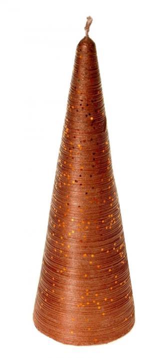EverGreen Svíce jehlan proužky, výška 15 cm, B