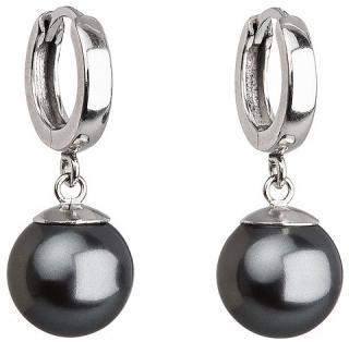 Evolution Group Stříbrné náušnice s perlou 731151.3 tahiti