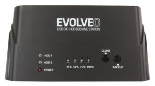Evolveo HDD dokovací stanice, USB 3.0 BN-D4U3P - rozbaleno