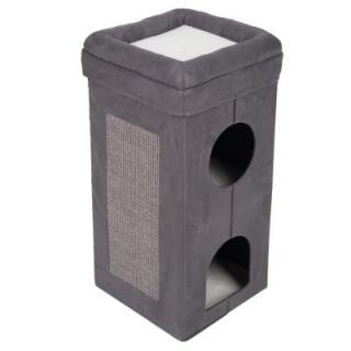 Faltbarer Soft'n Scratchy škrabací věž - béžová / bílá