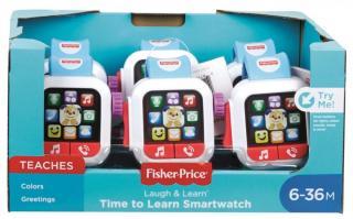 Fisher-Price Chytré hodinky - zánovní