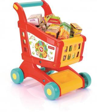Fisher-Price DOLU Dětský nákupní vozík - rozbaleno