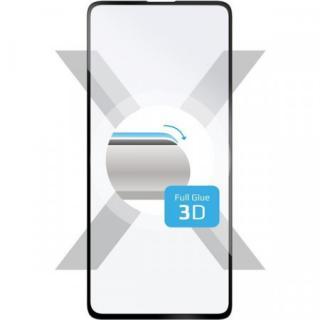 FIXED 3D Full-Cover tvrzené sklo s lepením po celé ploše Samsung Galaxy A71 černé