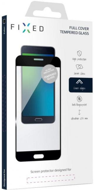 Fixed Full-Cover ochranné tvrzené sklo pro Huawei Mate 10, přes celý displej, černé FIXGF-245-033BK - rozbaleno