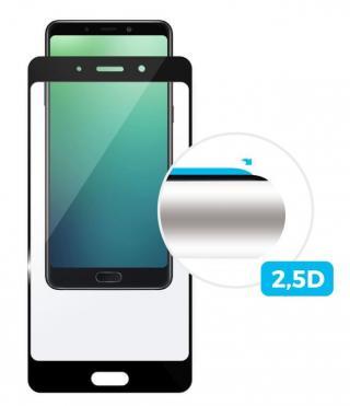 Fixed Ochranné tvrzené sklo Full-Cover pro Motorola Moto E5 Play černé, 0.33 mm FIXGF-355-BK - rozbaleno