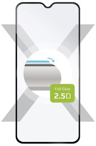 Fixed Ochranné tvrzené sklo Full-Cover pro Motorola Moto G8 Play FIXGFA-479-BK, lepení přes celý displej, černé - rozbaleno