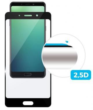 Fixed Ochranné tvrzené sklo Full-Cover pro Samsung Galaxy J6, lepení přes celý displej, černé, 0,33 mm FIXGFA-306-BK - zánovní