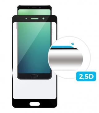 Fixed Ochranné tvrzené sklo Full-Cover pro Xiaomi Mi Max 3, přes celý displej, černé, 0,33 mm FIXGF-299-BK - rozbaleno