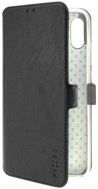 Fixed Tenké pouzdro typu kniha Topic pro Xiaomi Redmi Note 8T FIXTOP-455-BK, černé