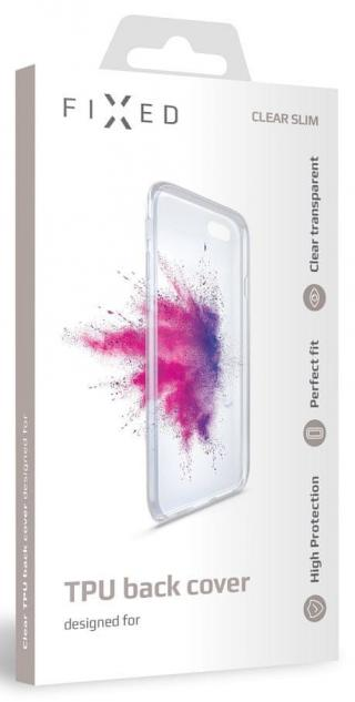 Fixed TPU gelové pouzdro pro Huawei P Smart Z, čiré FIXTCC-417 - zánovní
