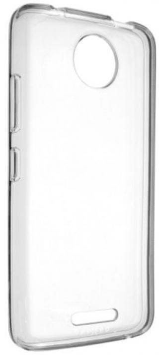Fixed TPU gelové pouzdro pro Motorola Moto C 4G, čirá