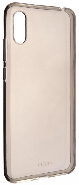 Fixed TPU gelové pouzdro Slim pro Huawei Y6 , 0,6 mm, kouřové FIXTCSM-395 - zánovní