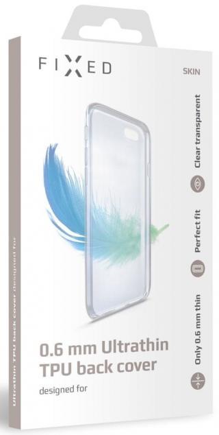 Fixed Ultratenké TPU gelové pouzdro Skin pro Xiaomi Redmi Note 8T FIXTCS-455, čiré - zánovní