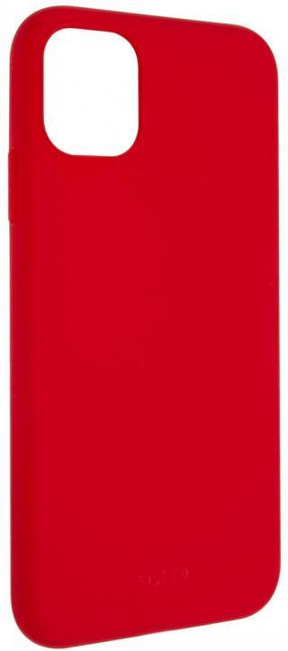 Fixed Zadní pogumovaný kryt Story pro Apple iPhone 11, červený FIXST-428-R