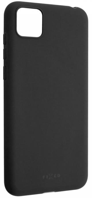 Fixed Zadní pogumovaný kryt Story pro Huawei Y5p FIXST-550-BK, černý