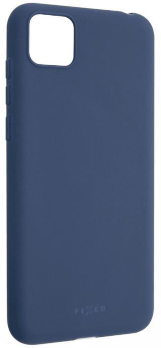 Fixed Zadní pogumovaný kryt Story pro Huawei Y5p FIXST-550-BL, modrý
