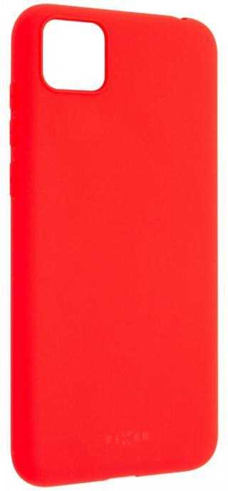 Fixed Zadní pogumovaný kryt Story pro Huawei Y5p FIXST-550-RD, červený