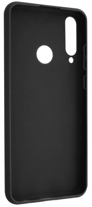 Fixed Zadní pogumovaný kryt Story pro Huawei Y6p FIXST-551-BK, černý