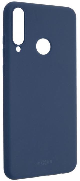 Fixed Zadní pogumovaný kryt Story pro Huawei Y6p FIXST-551-BL, modrý