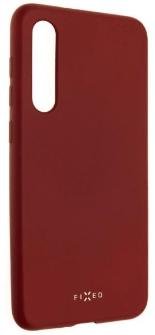 Fixed Zadní pogumovaný kryt Story pro Xiaomi Mi9 SE, červený