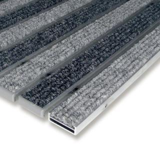 Flomat Textilní Hliníková Čistící Vstupní Vnitřní Rohož Alu Low - 100 X 100 X 1 Cm