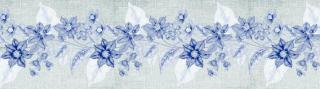 Flowers - samolepící bordura | role 14x500 cm